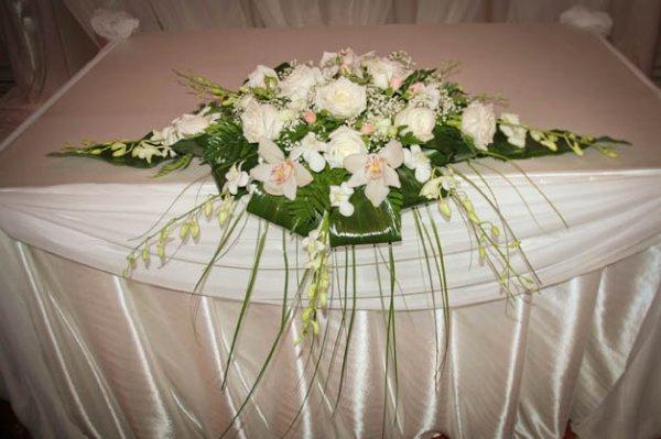 Букет на стол свадьба своими руками