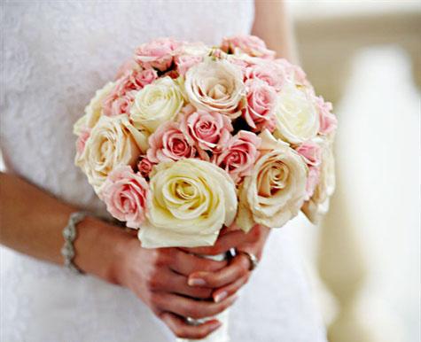 Винтажный свадебный букет букет