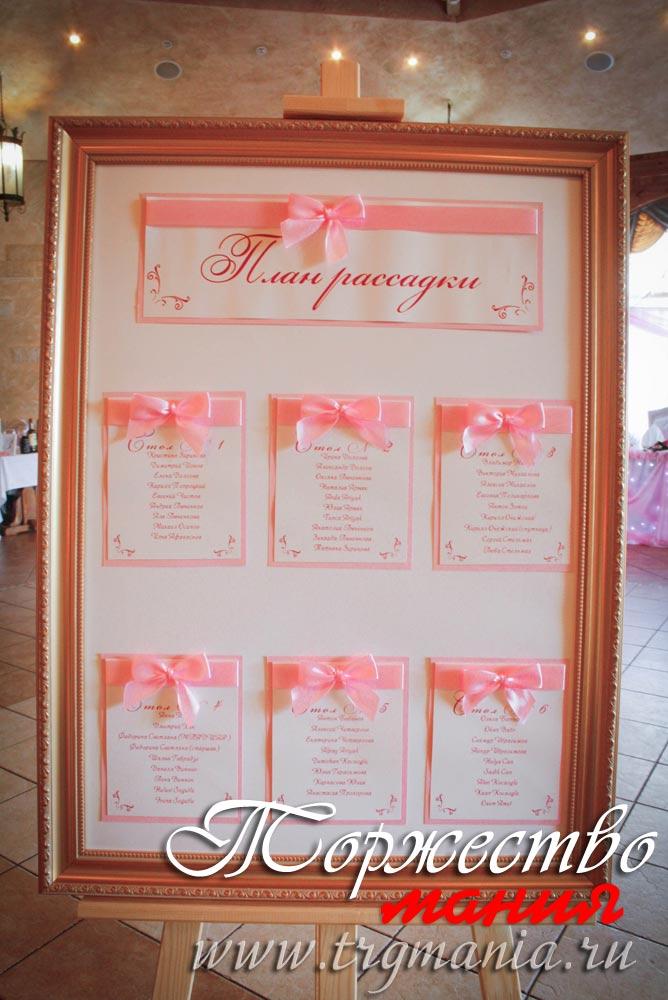 Стенд рассадки гостей на свадьбу своими руками